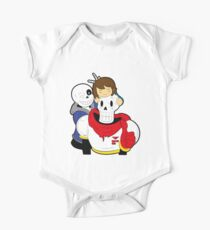 Undertale Sans and Papyrus One Piece - Short Sleeve