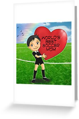 Red Heart Referee by EatSoccer