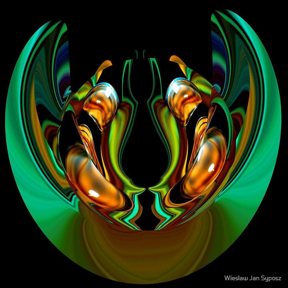 golden & emerald fantasy 5 by Wieslaw Jan Syposz