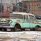 57 Chevy by rosaliemcm