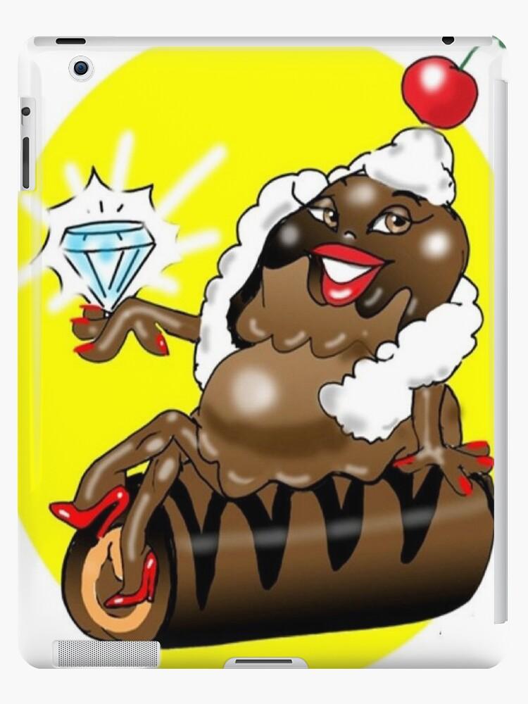 DIAMONDS GIRLS BEST FRIEND TABLET CASE by InspireCartoons