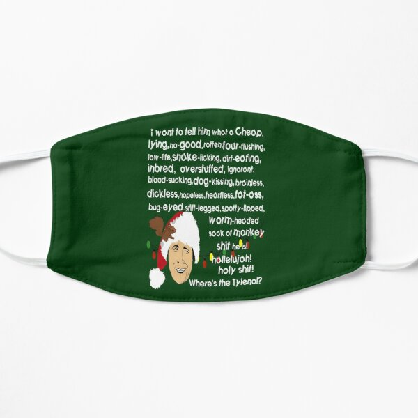 Clark Griswold Rant Flat Mask