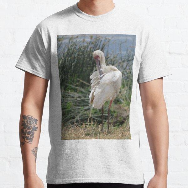 African Spoonbill Bird Classic T-Shirt