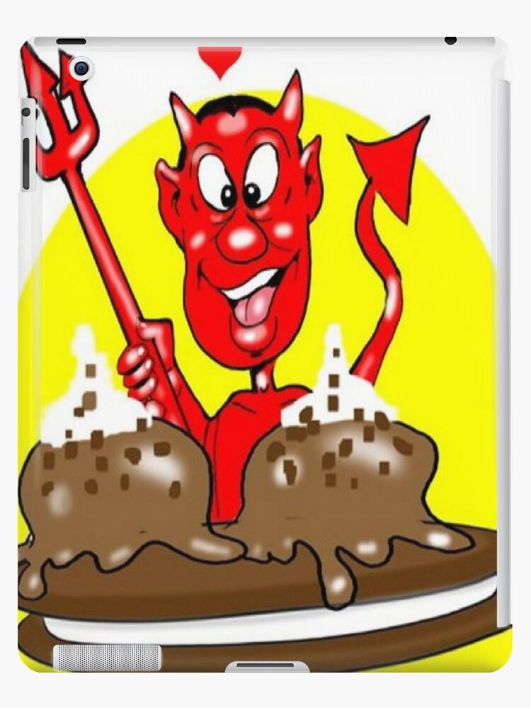 DEVIL CARTOON TABLET CASE by InspireCartoons