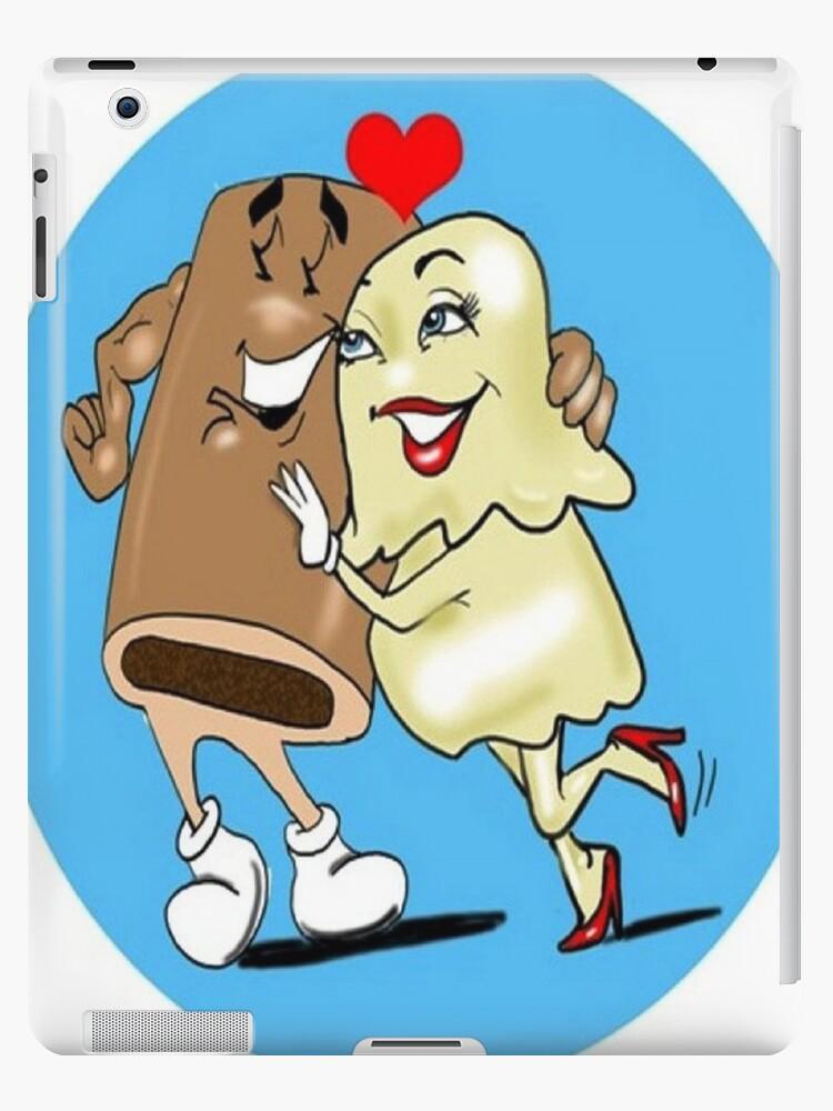 LOVE CARTOON TABLET CASE by InspireCartoons