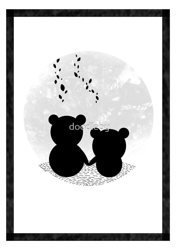Bear Love by doodleby