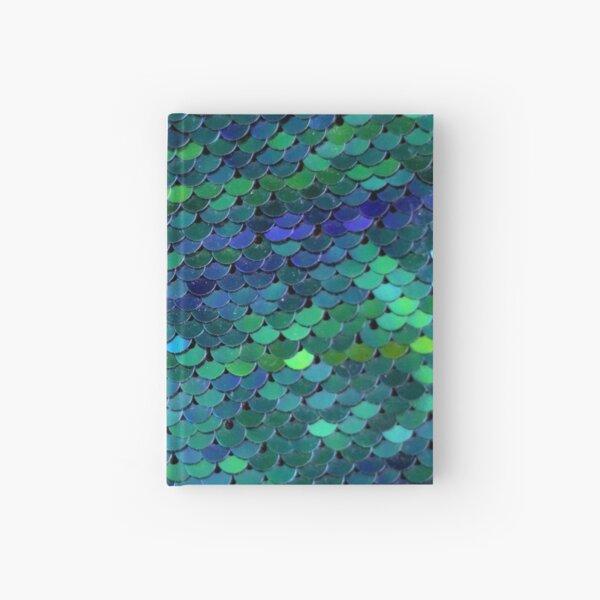 Mermaid dragon scales Hardcover Journal