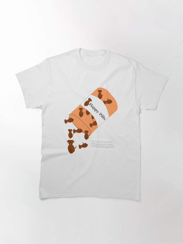 Alternate view of Doggy happy pills Classic T-Shirt