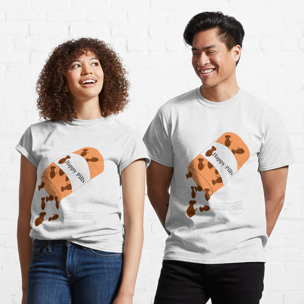 Doggy happy pills Classic T-Shirt