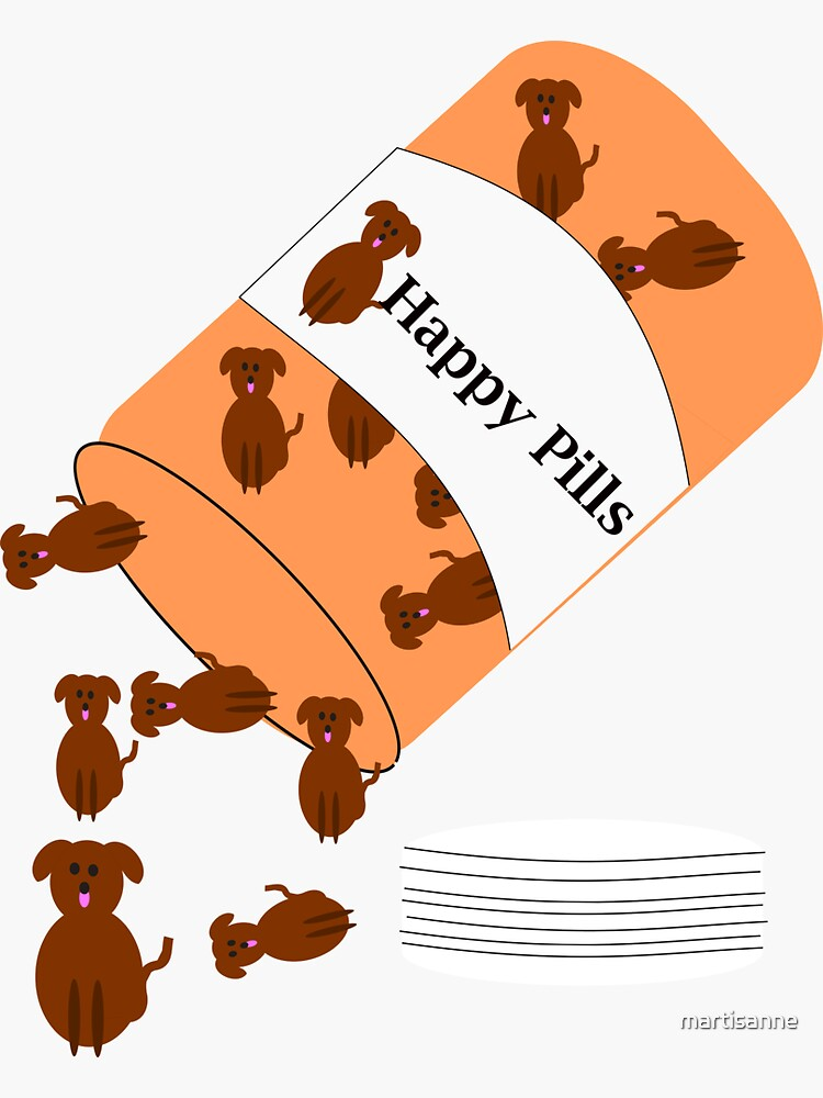Doggy happy pills by martisanne