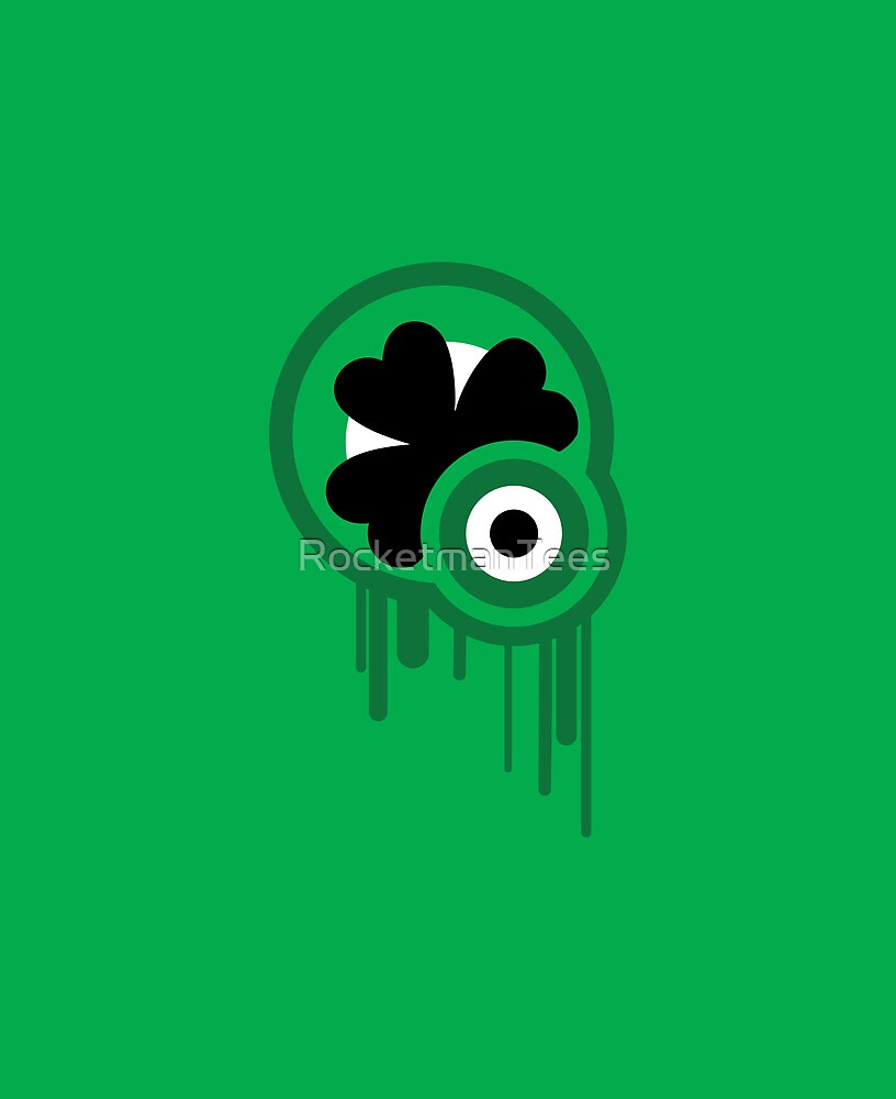 Pop Shamrock by RocketmanTees