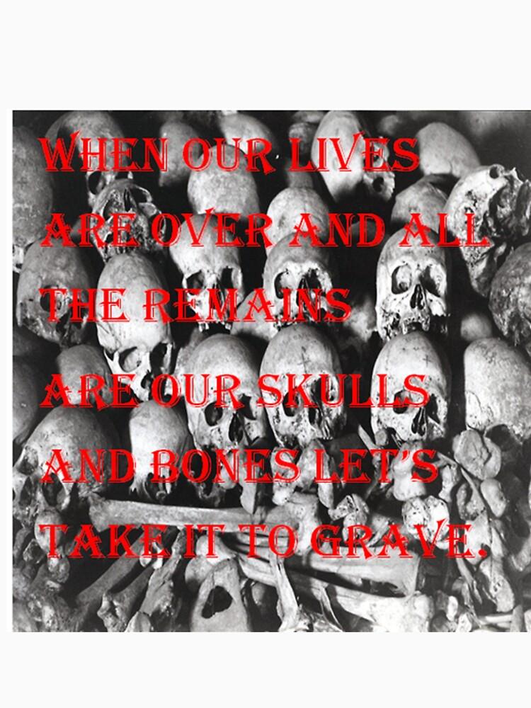 skulls by larissasmith
