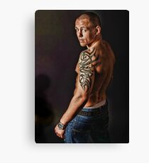 Fighter Canvas Print