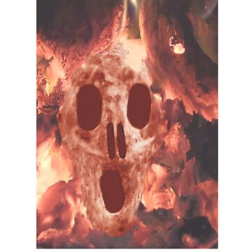 Skull Burning by kempson