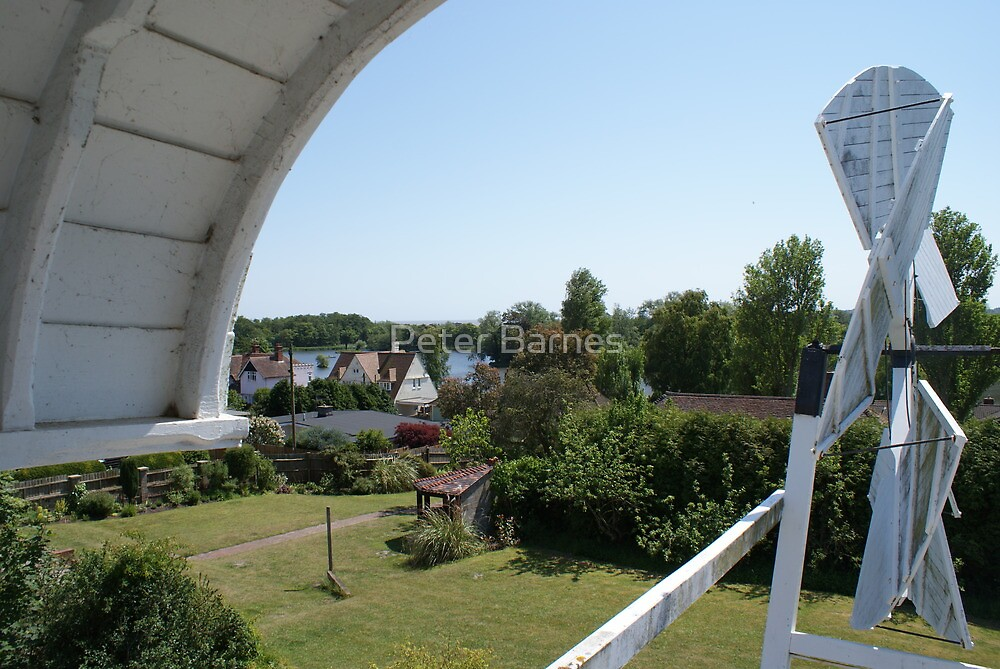 View from Thorpeness Windmill by Peter Barnes