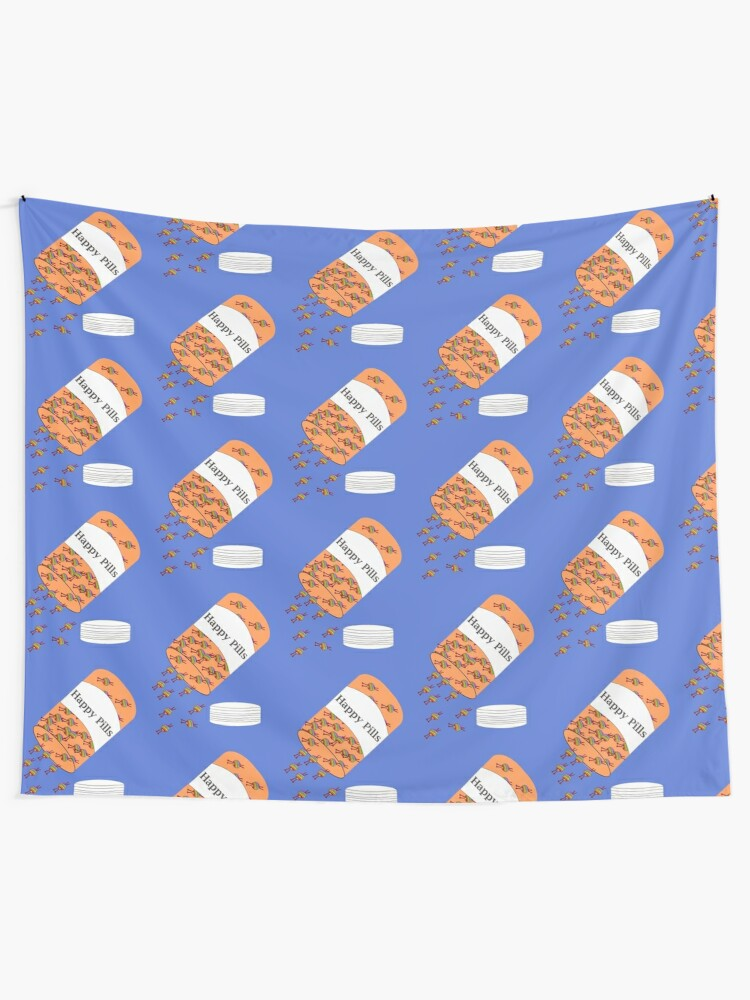 Alternate view of Knitting Happy Pills Tapestry