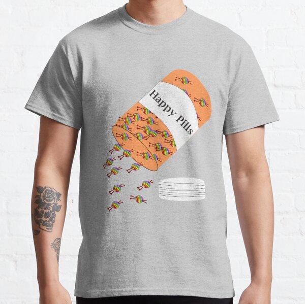 Knitting Happy Pills Classic T-Shirt