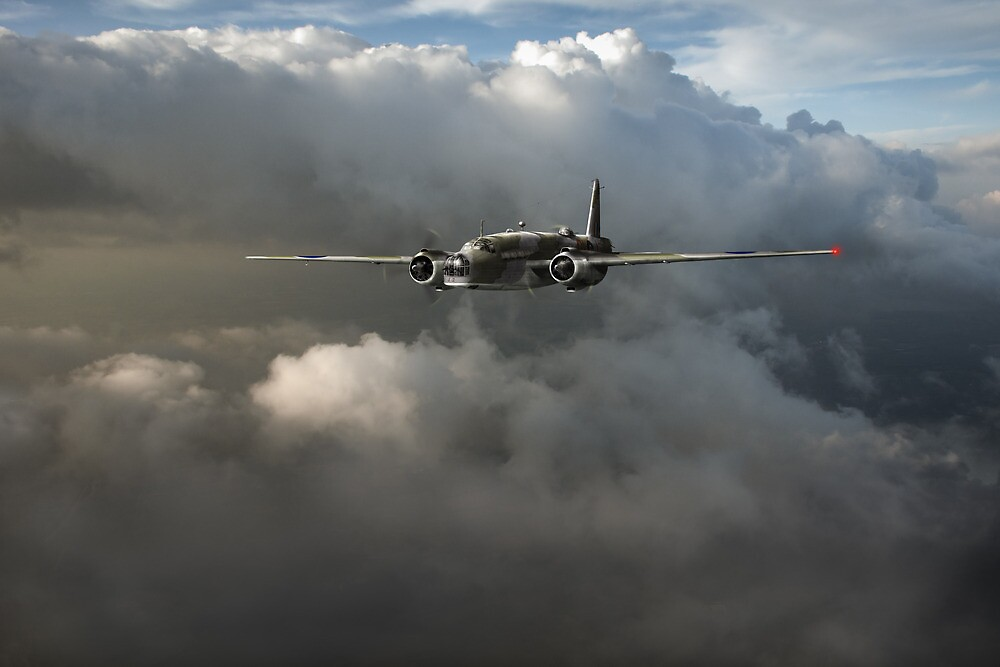 RAF Coastal Command Vickers Warwick ASR by Gary Eason