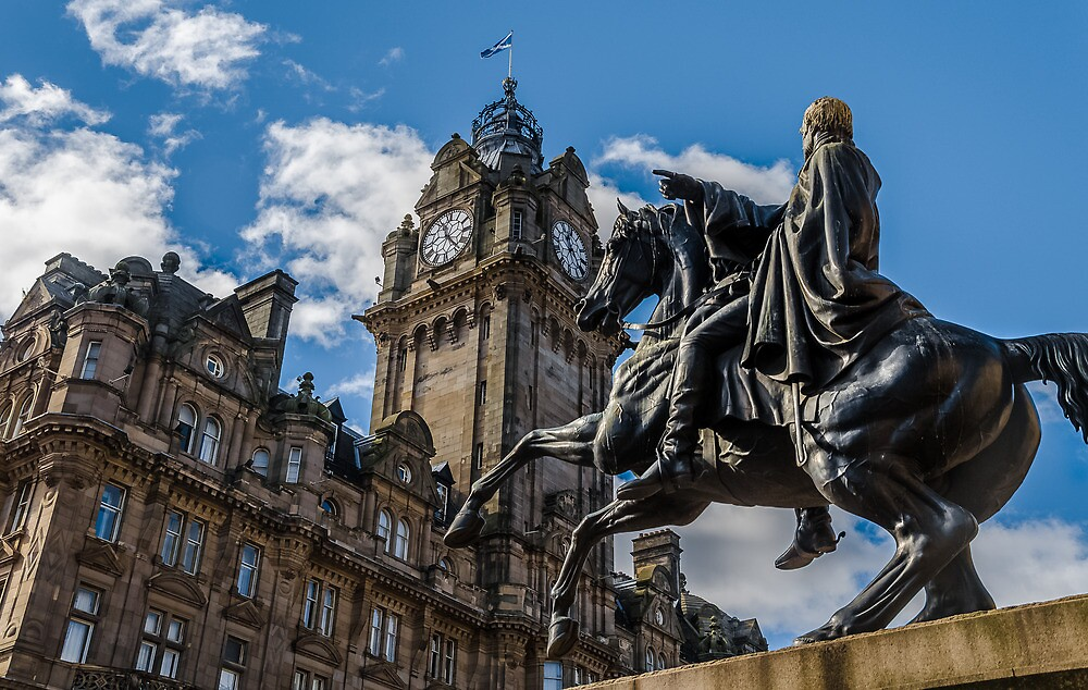 Arthur Wellesley and the Balmoral by Graeme  Ross