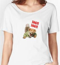 boom boom basil brush Women's Relaxed Fit T-Shirt