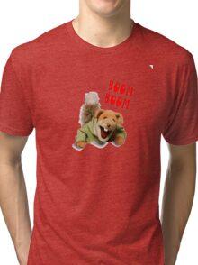 boom boom basil brush Tri-blend T-Shirt