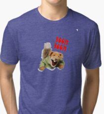 boom boom basil brush Tri-blend T-Shirt