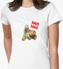 boom boom basil brush Women's Fitted T-Shirt