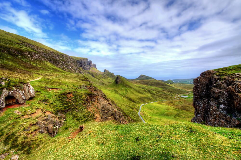 The Quiraing, Isle of Skye by Stephen Smith