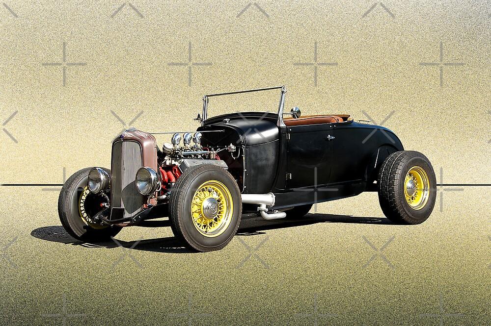 1929 Ford Roadster  by DaveKoontz