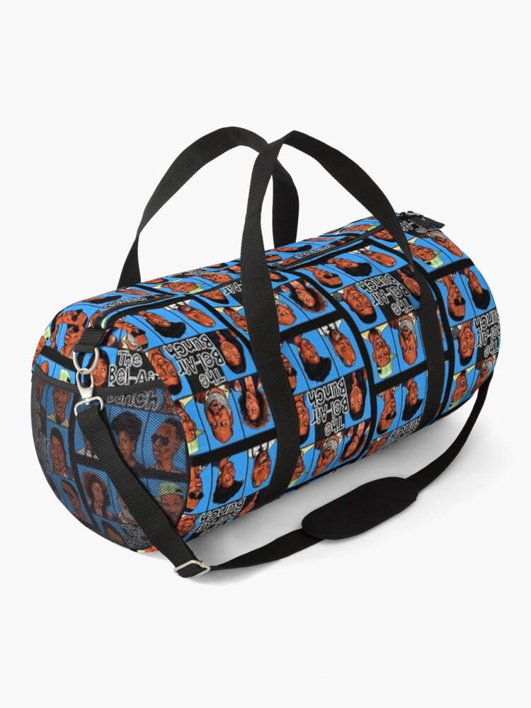 Alternate view of FRESH PRINCE OF BEL-AIR / BRADY BUNCH STYLE PARODY ART Duffle Bag