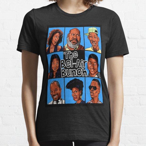 FRESH PRINCE OF BEL-AIR / BRADY BUNCH STYLE PARODY ART Camiseta esencial