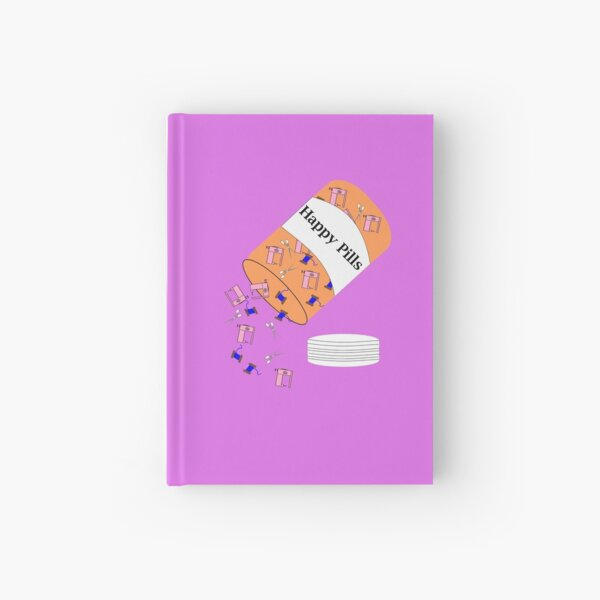 Sewing Happy Pills Hardcover Journal