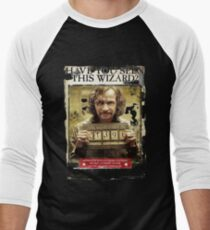 Have You seen This Wizard Men's Baseball ¾ T-Shirt