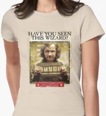 Have You seen This Wizard Womens Fitted T-Shirt