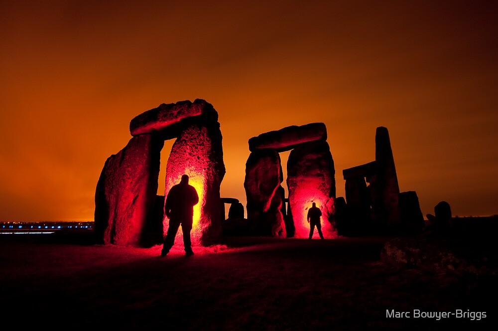 Stonehenge - Shadowman by Marc Bowyer-Briggs