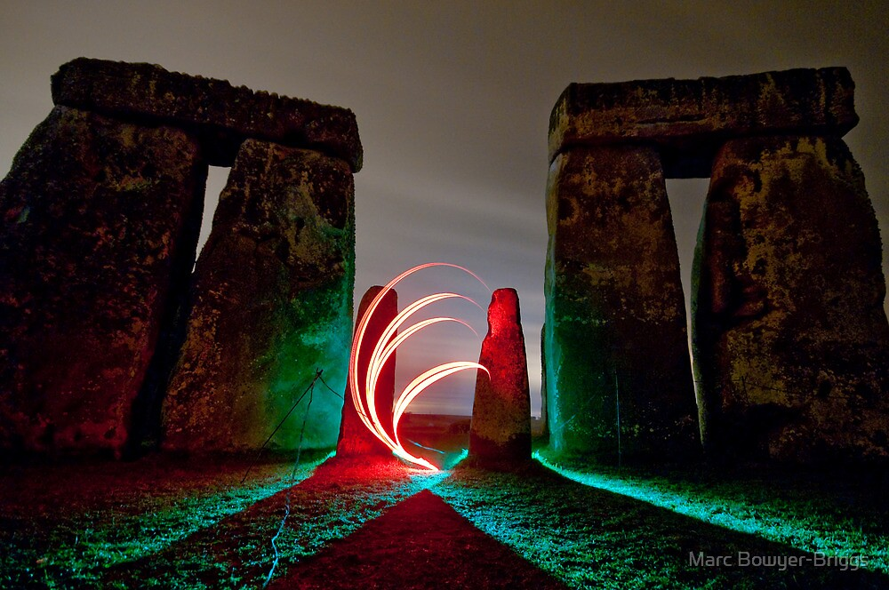 Stonehenge - Gate by Marc Bowyer-Briggs