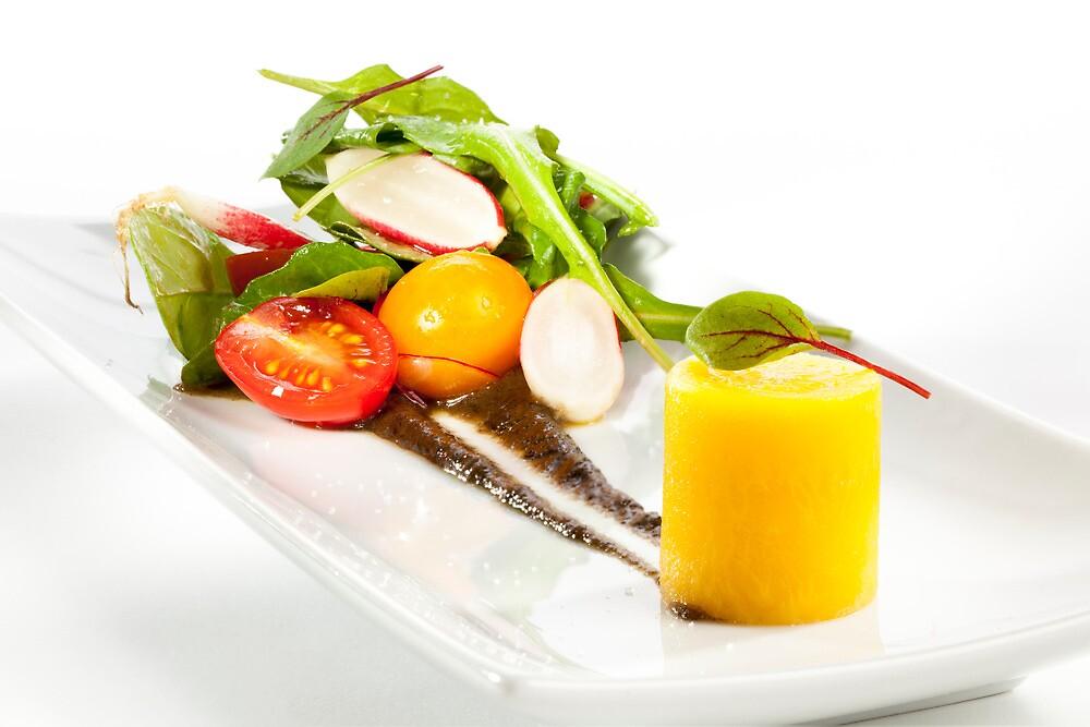 Yellow Beet Salad by Jerry Deutsch