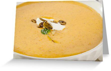 Squash Soup by Jerry Deutsch