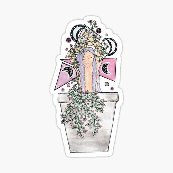 Pastel Ivy Sticker
