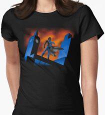 Sherlock Cartoon Women's Fitted T-Shirt