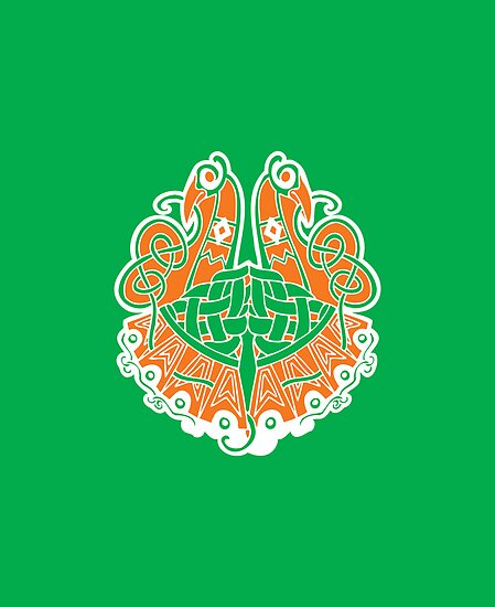 Irish shield  by RocketmanTees