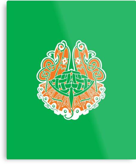 Irish shield  by RocketmanTees