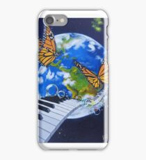 Melody for the eyes iPhone Case/Skin