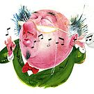 The Music Critic by drawgood