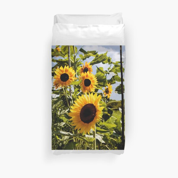 Summer Sunflowers Duvet Cover