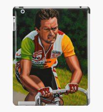 Bernard Hinault painting iPad Case/Skin