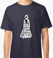 A Man, a Lighthouse and a City Classic T-Shirt