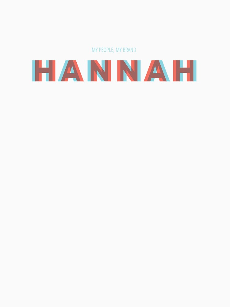 Hannah by MyPeopleMyBrand
