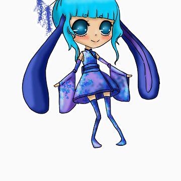 Bunny-Girl Chibi by AshleyIvola