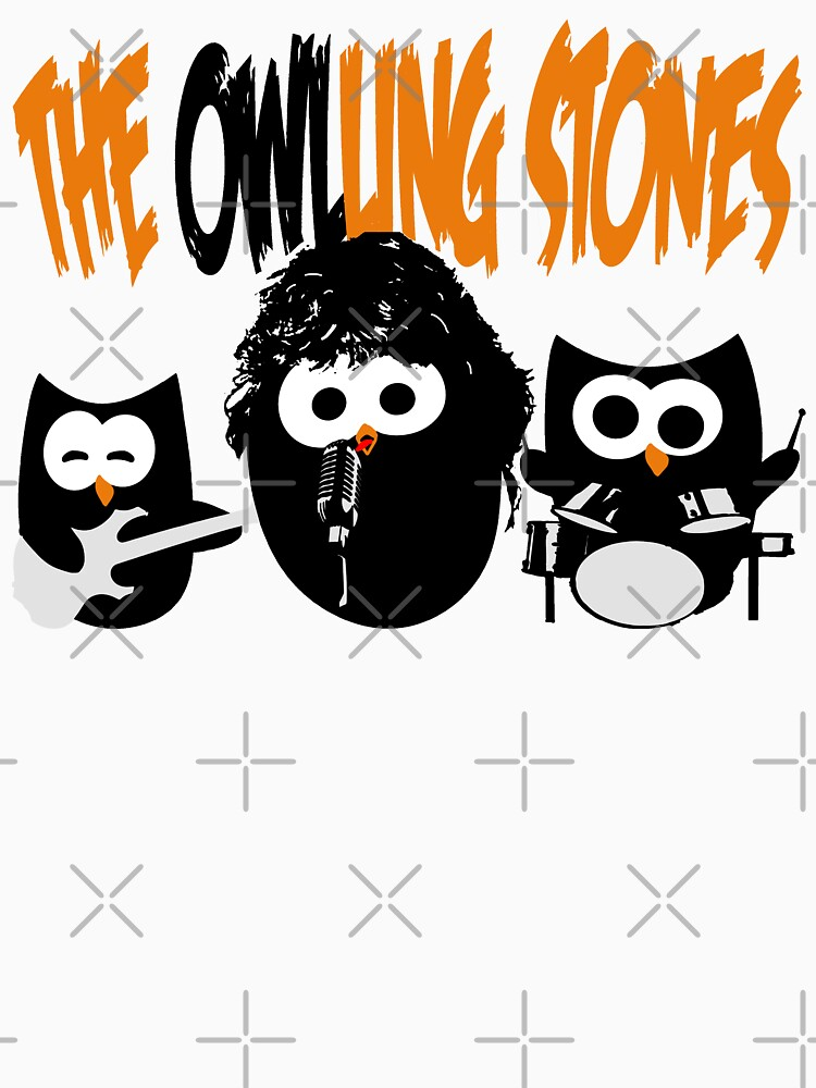 The Owl-Ling Stones by SeijiArt